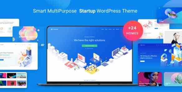 atomlab startup landing page wordpress theme