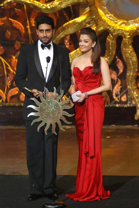Aishwarya Rai and Abhishek Bachchan