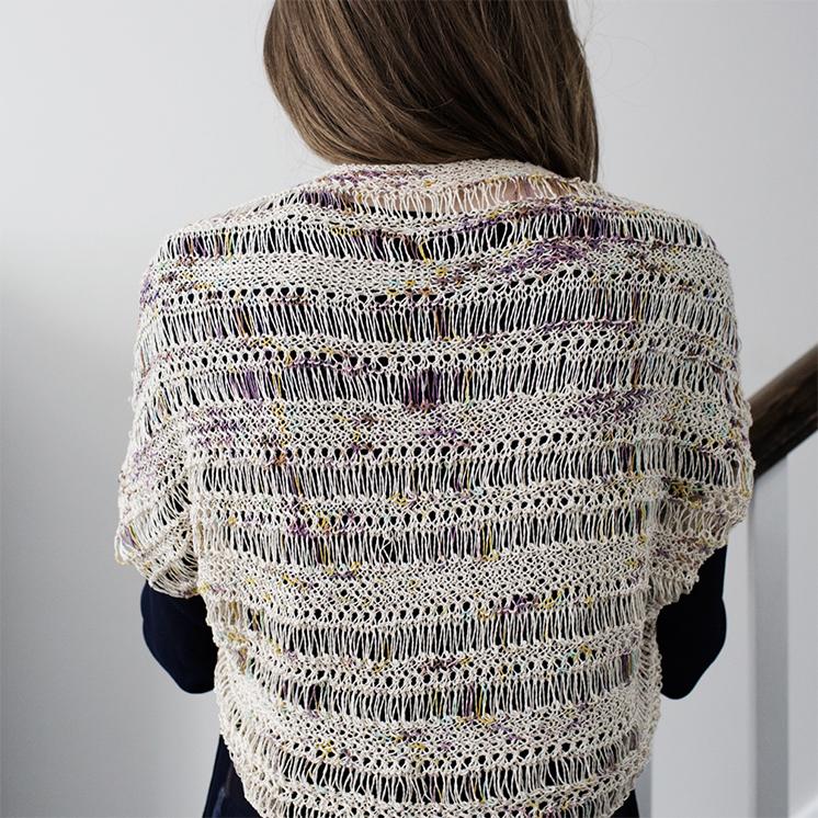 4e04f5ff4d7dc Free Knitting Pattern  Cocoon Shrug