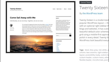 WordPress theme management - Menus
