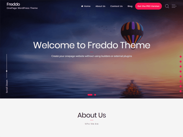 Freddo, Free WordPress themes