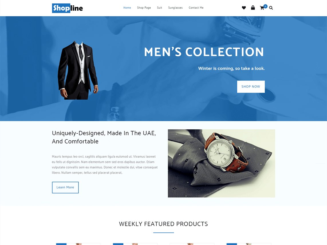 Madison : Beaver builder wordpress themes free