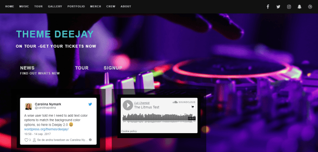 10 best free wordpress themes for musicians wp review team