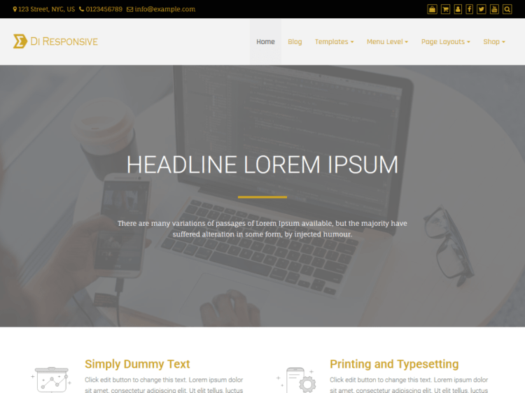 Di-responsive-free-WordPress-themes-WPreviewteam