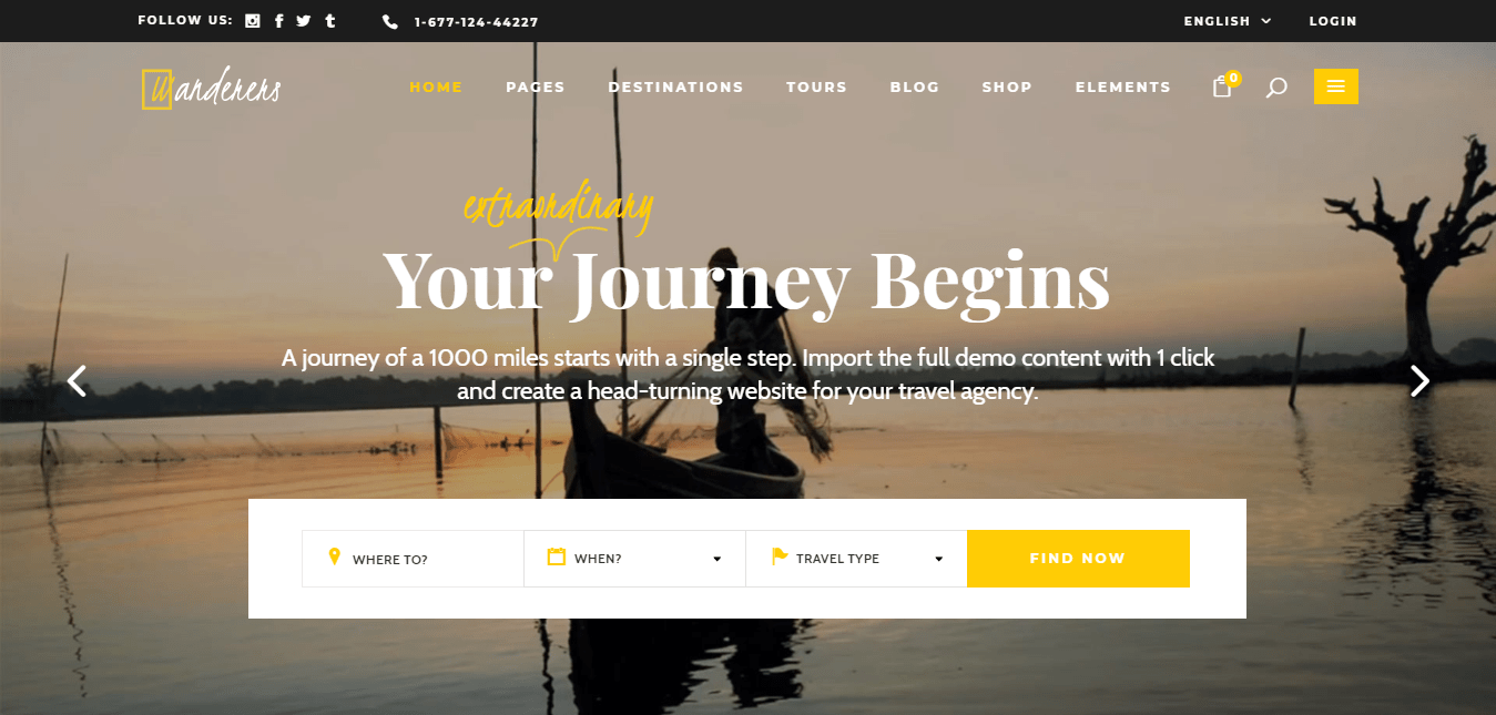 15 Best Travel WordPress Themes | WP Review Team