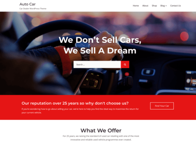AutoCar-free-car-dealer-automotive-WordPress-themes-WPreviewteam