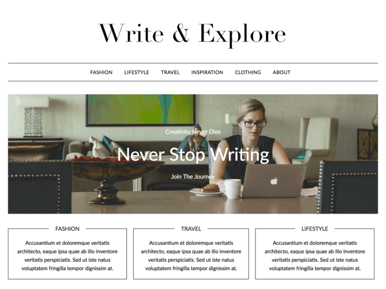 Minimalistblogger-Free-WordPress-blogging-themes-WPreviewteam