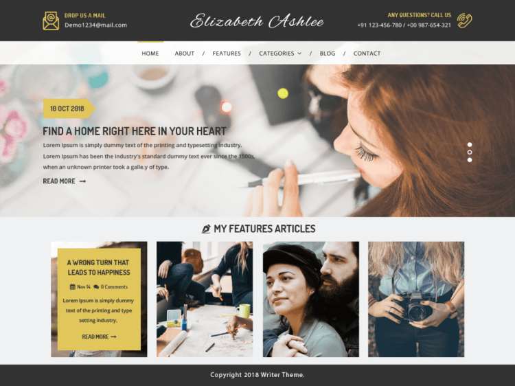 VWWriter-blogging-free-best-WordPress-theme-WPreviewteam