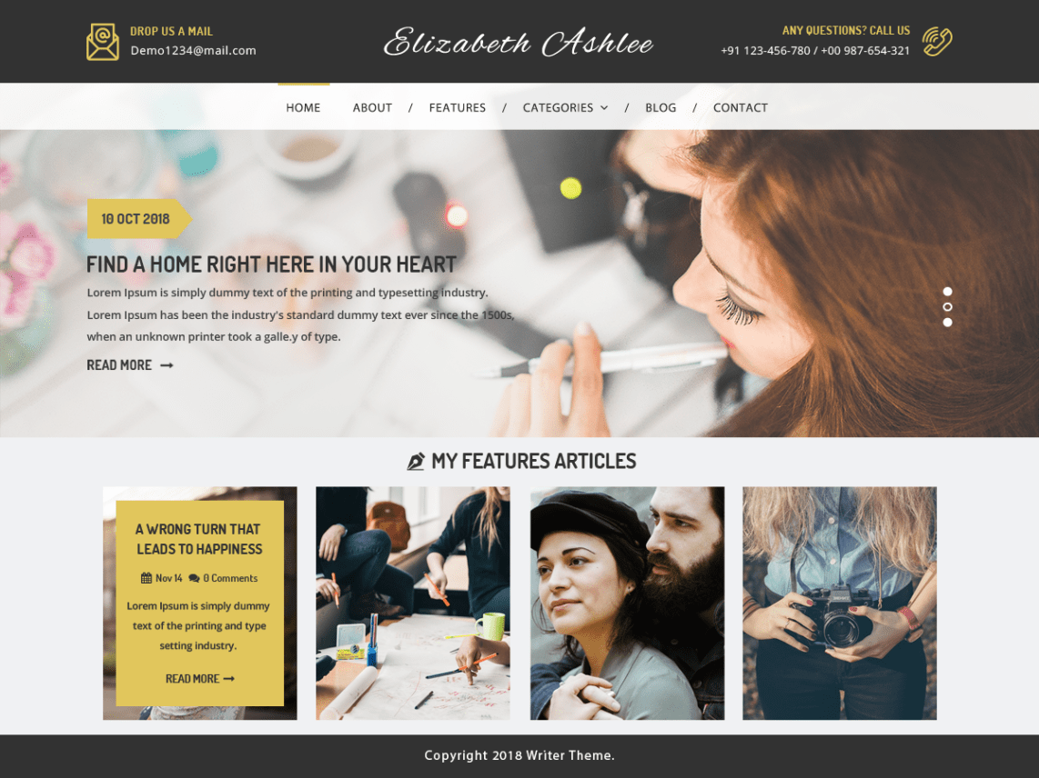 15+Best free WordPress blog themes | WP Review Team