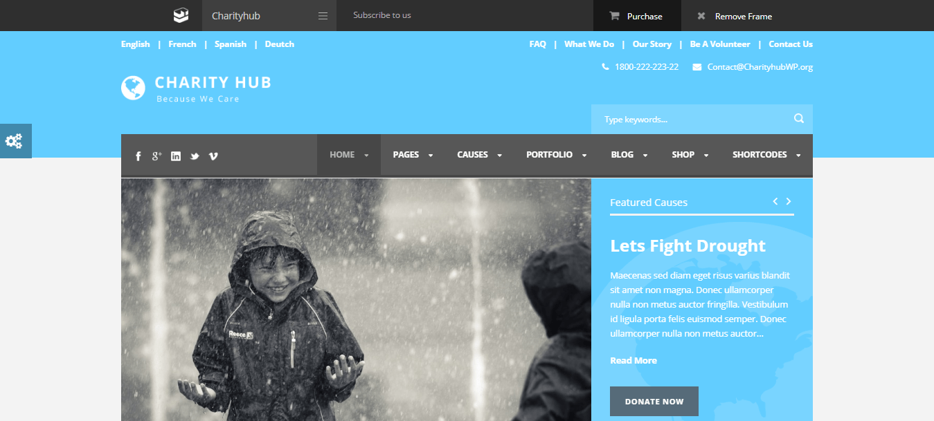 Best WordPress themes for Nonprofit and Charity Organization
