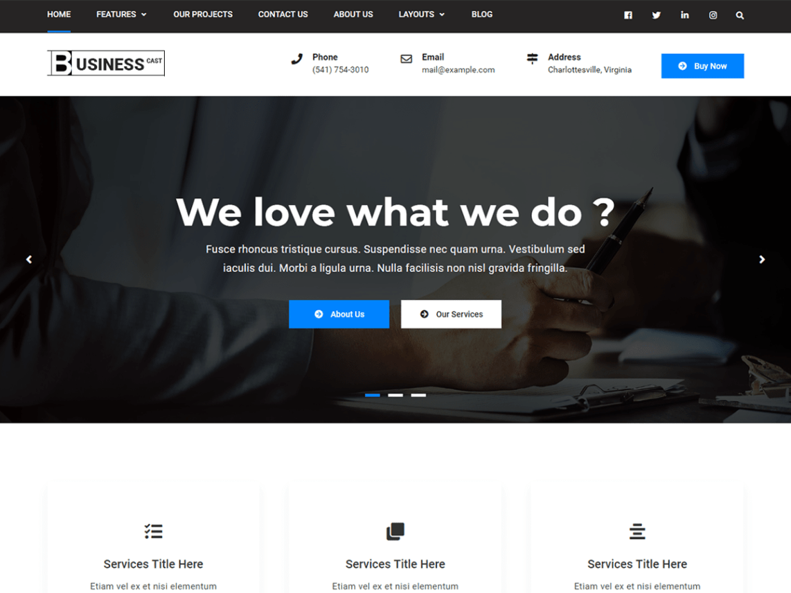 10+ best free business WordPress themes | WP Review Team