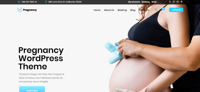 premium medical WordPress theme, Medical Nordis