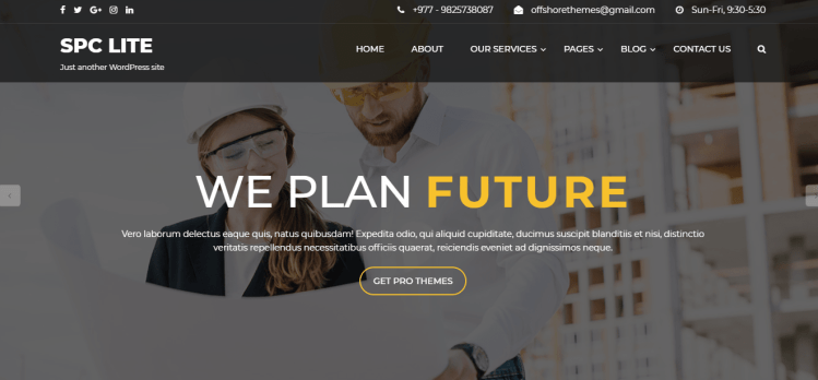 25+ Free WordPress Themes for Construction Company - WP Review Team