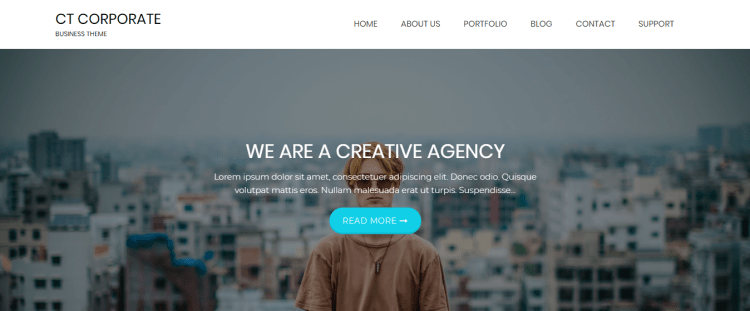 free-WordPress-business-portfolio-responsive-themes-CTCorporate-Yudleethemes
