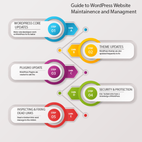 Guide to WordPress website Maintenance and Management.