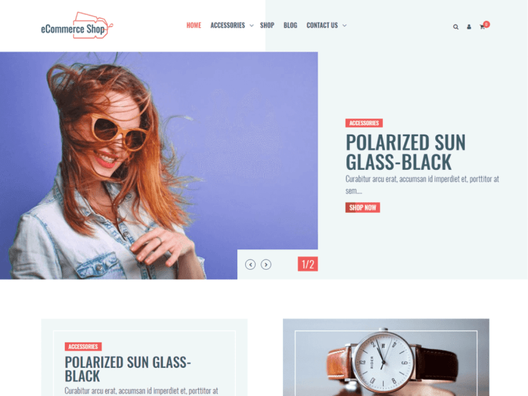 eCommerce-shop-free-WordPress-themes-WPreviewteam