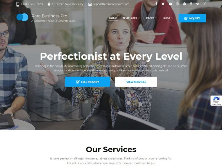 Rara-Business-Pro-WordPress-Theme