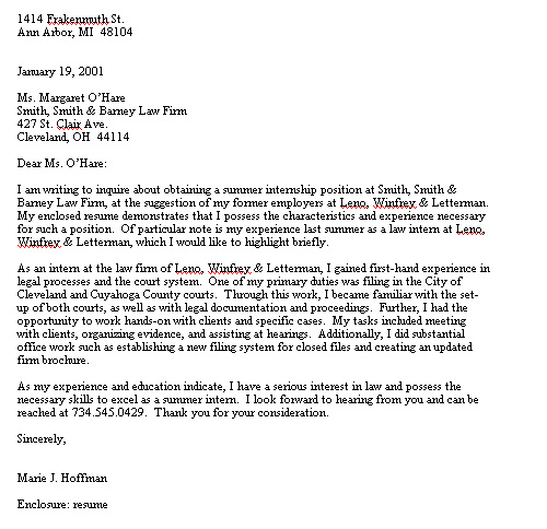 recall to prison offenders families helpline intern cover letter