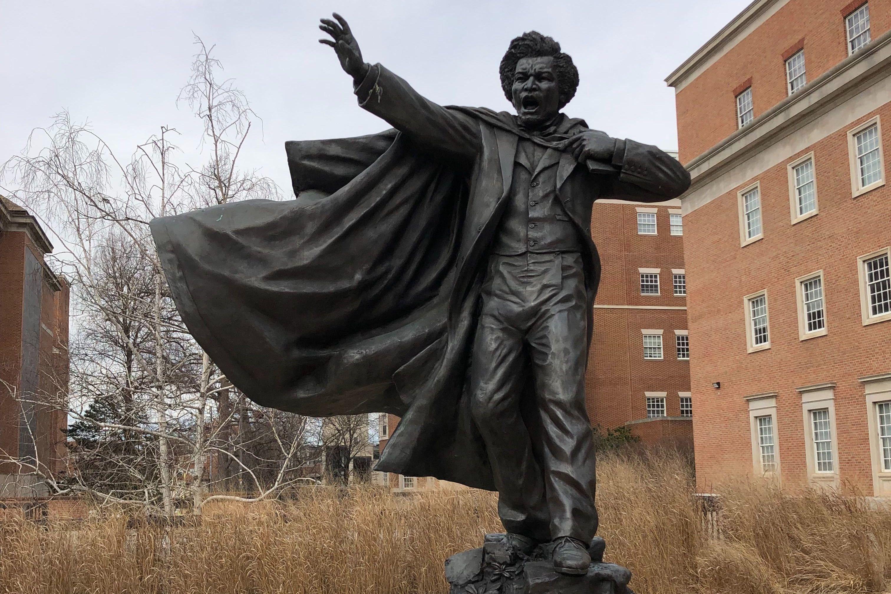 Umd Black History Month Tour Honors Frederick Douglass