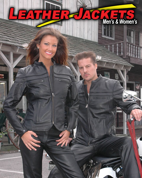Leather Jackets Featured by Jamin' Leather