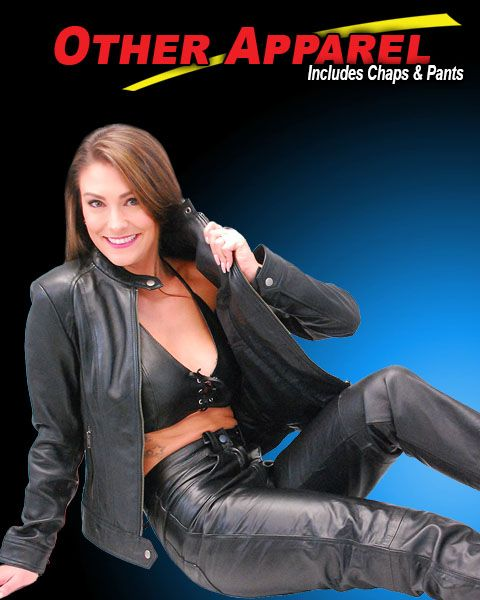 Leather Apparel Featured by Jamin' Leather