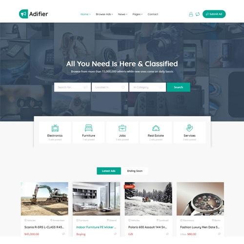Adifier - Classified Ads WordPress Theme - WPSHOP