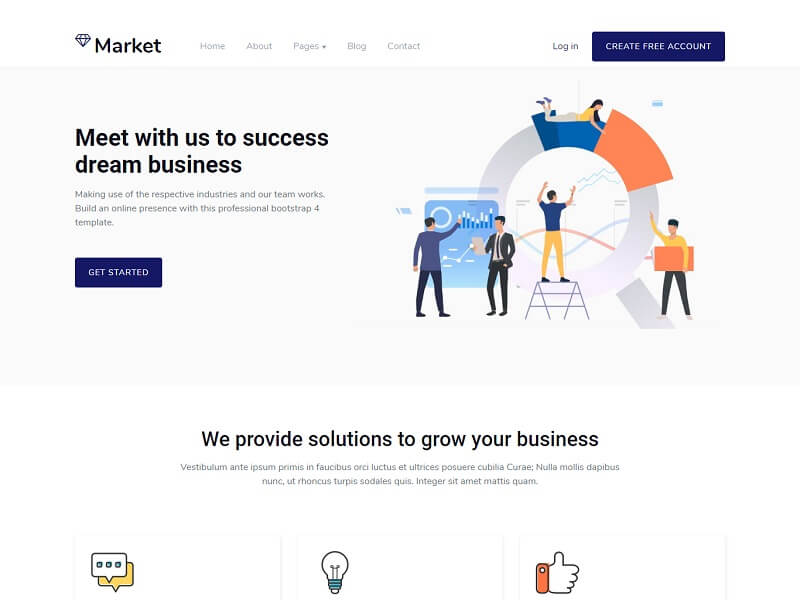 This template has been specifically designed for digital agencies and similar other creative firms. 28 Best Free Corporate Html Website Templates Wpshopmart
