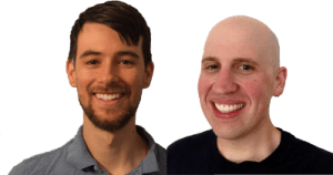 Fred and David, co-editors of WPShout