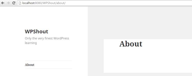 wordpress fatal error partway down page