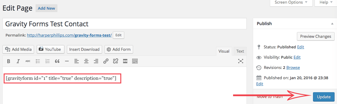 How to Create a Contact Form with Gravity Forms • WPShout