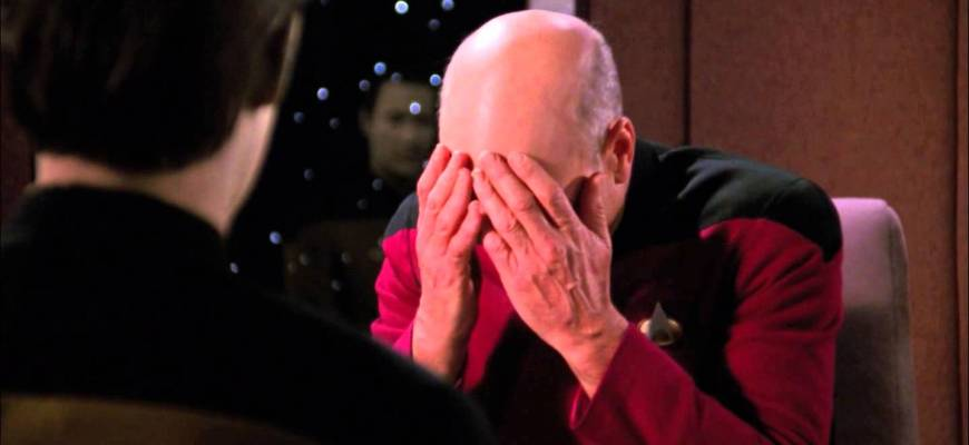 picard double face palm | seo