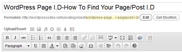 Find-Page-id-WordPress