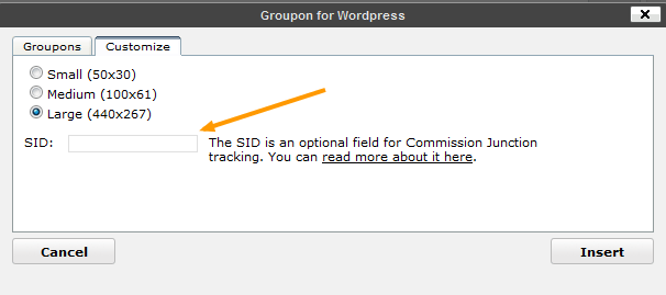 Customize & SID for CJ