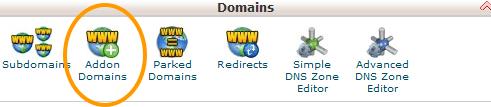 cPanel-Domains-Addon-Domain