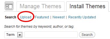 Install Themes ‹ WordPress Sites — WordPress