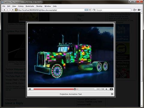 Video LightBox for WordPress
