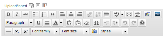 WordPress Visual Editor Extra Features