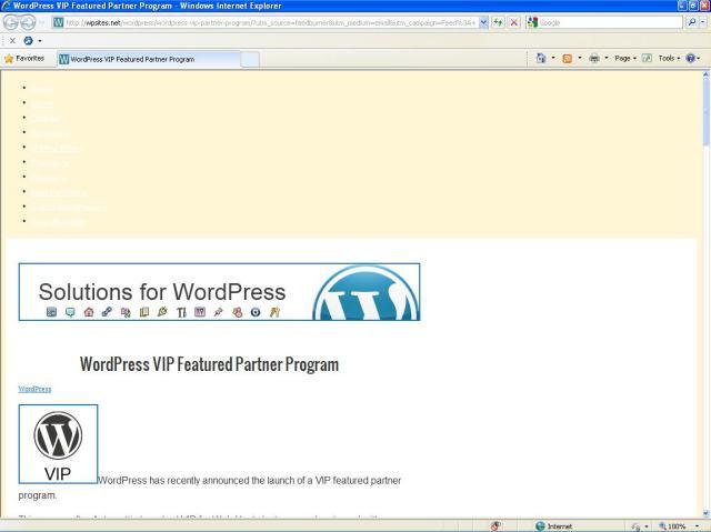 WordPress Sites Browser Test