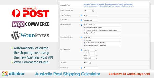 Australia Post Shipping Extension