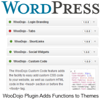 WooDojo Plugin Works With Any WordPress Theme