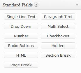 Standard Fields