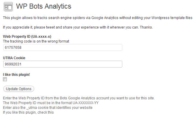 WP Bots Analytics