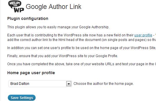 Home Page User Profile