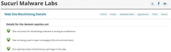Web Site Blacklisting