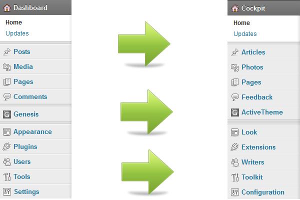 Custom WordPress Dashboard