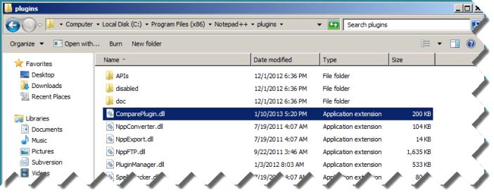Install Notepad++ Plugin