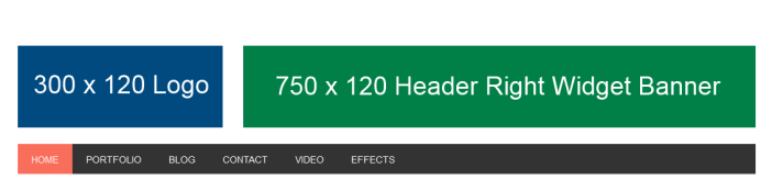 perfect header image alignment
