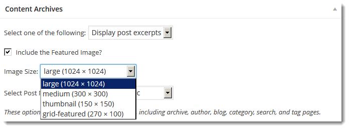 genesis content archives image sizes