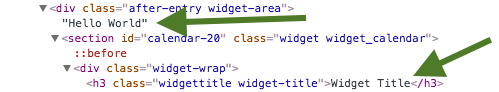 widget-markup
