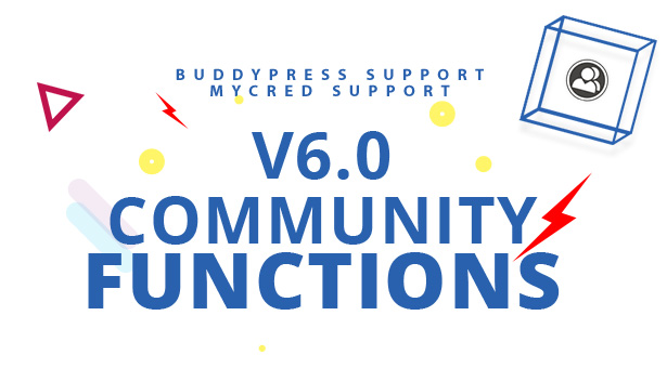 Community functions, Buddypress support